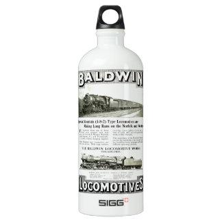 Baldwin Steam Locomotive Mountain Type in 1924 Water Bottle