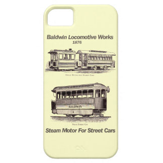 Baldwin Steam Motor For Street Cars 1876 iPhone 5 Cover