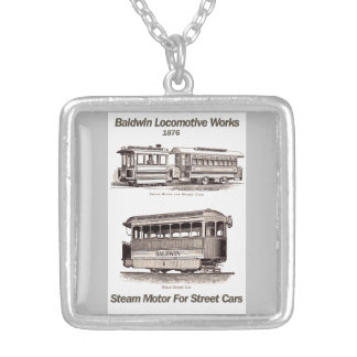 Baldwin Steam Motor For Street Cars 1876 Necklace