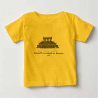 Baldwin Westinghouse Electric locomotive 1893 Baby T-Shirt