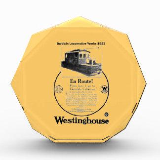 Baldwin-Westinghouse Locomotive 1923 Award
