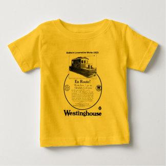 Baldwin-Westinghouse Locomotive 1923 Infant Shirt