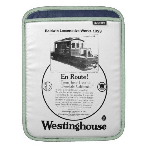 Baldwin-Westinghouse Locomotive 1923 iPad Sleeves