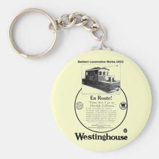 Baldwin-Westinghouse Locomotive 1923 Keychain