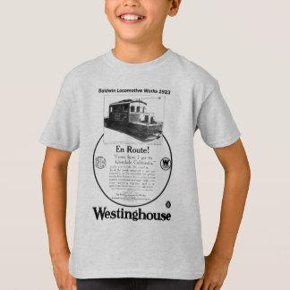 Baldwin-Westinghouse Locomotive 1923 Kids T-Shirt