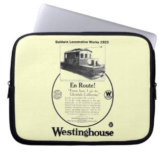 Baldwin-Westinghouse Locomotive 1923 Laptop Sleeve