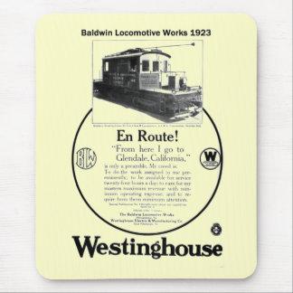 Baldwin-Westinghouse Locomotive 1923 Mousepad