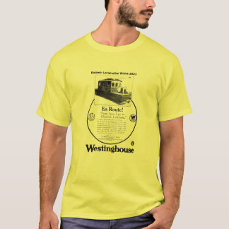 Baldwin-Westinghouse Locomotive 1923 T-Shirt