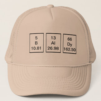 BAlDy Chemical Elements Hat