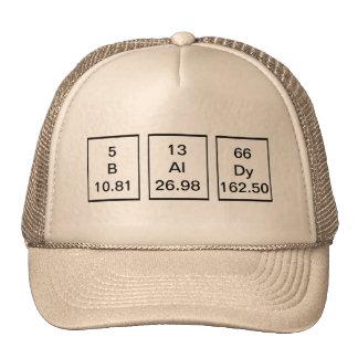 BAlDy Chemical Elements Hat