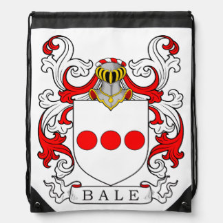 Bale Coat of Arms III Drawstring Backpack