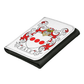 Bale Coat of Arms III Tri-fold Wallet