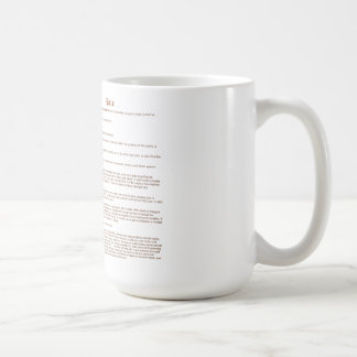 Bale (meaning) coffee mug