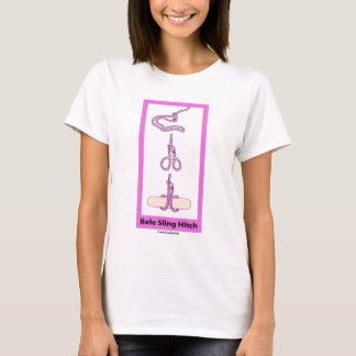 Bale Sling Hitch (Strap Hitch) T-Shirt
