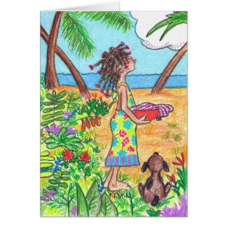 Baleada Girl Card