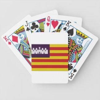 Balearic Islands Flag Poker Deck