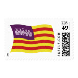 Balearic Islands Flag Stamps