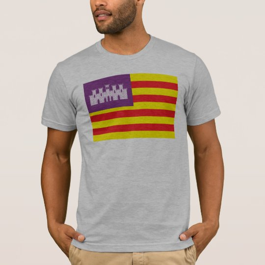 Balearic Islands Flag T-shirt