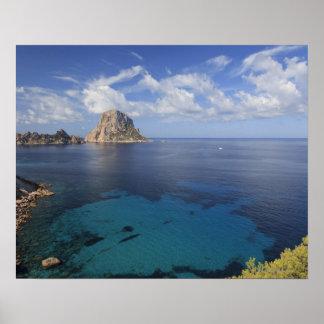 Balearic Islands, Ibiza, Spain Poster