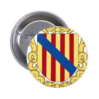 Balearic Islands (Spain) Coat of Arms Pinback Button