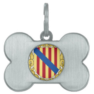 Balearic Islands (Spain) Coat of Arms Pet Tag