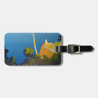 Balearic Islands Vintage French Travel Tag For Luggage