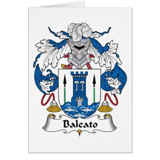 Baleato Family Crest Card