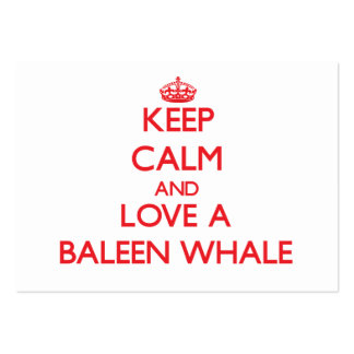 Baleen Whale Business Card Templates