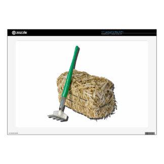"""BaleHayRake050915.png Skin For 17"""" Laptop"""