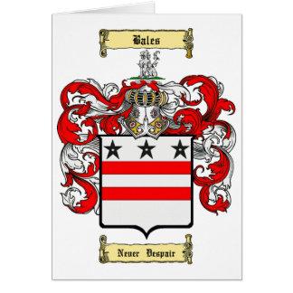 Bales Card