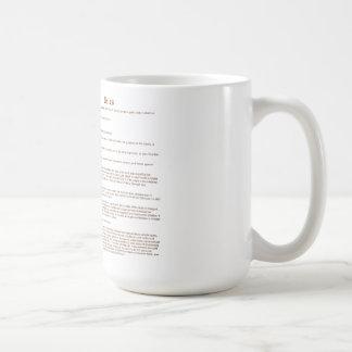 Bales (meaning) coffee mug