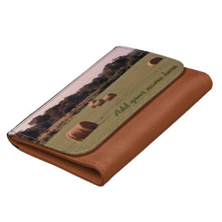 Bales Personalized Leather Wallets