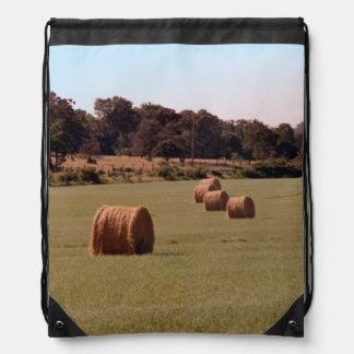 Bales Drawstring Bag