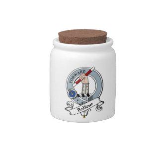 Balfour Clan Badge Candy Jar