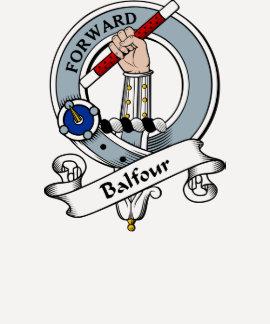 Balfour Clan Badge Tshirts