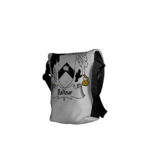 Balfour Family Crest Messenger Bag