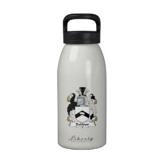 Balfour Family Crest Reusable Water Bottles