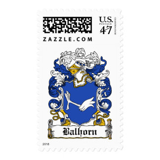 Balhorn Family Crest Postage