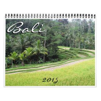 Bali 2015 calendarios