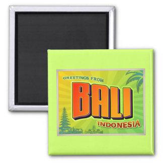 BALI 2 INCH SQUARE MAGNET
