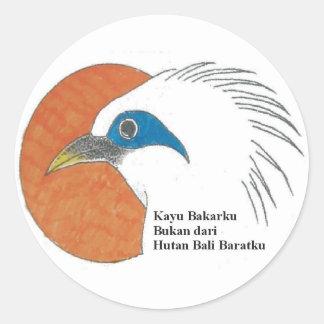 Bali Barat – Stickers