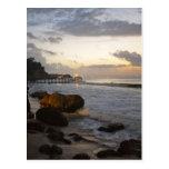 Bali beach view post card
