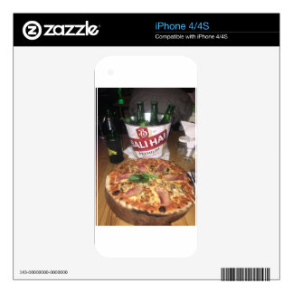 Bali beer and Pizza Decal For The iPhone 4S