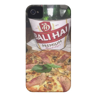 Bali beer and Pizza iPhone 4 Cover