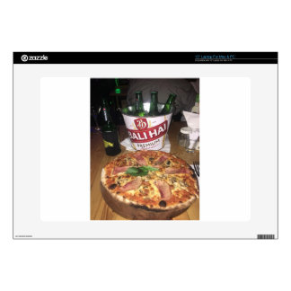 Bali beer and Pizza Laptop Skins
