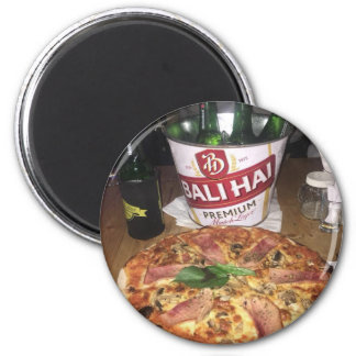 Bali beer and Pizza Magnet