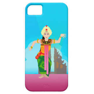 bali dancer vector iPhone SE/5/5s case