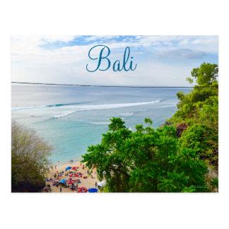 Bali Denpasar Beach Indonesia Postcard
