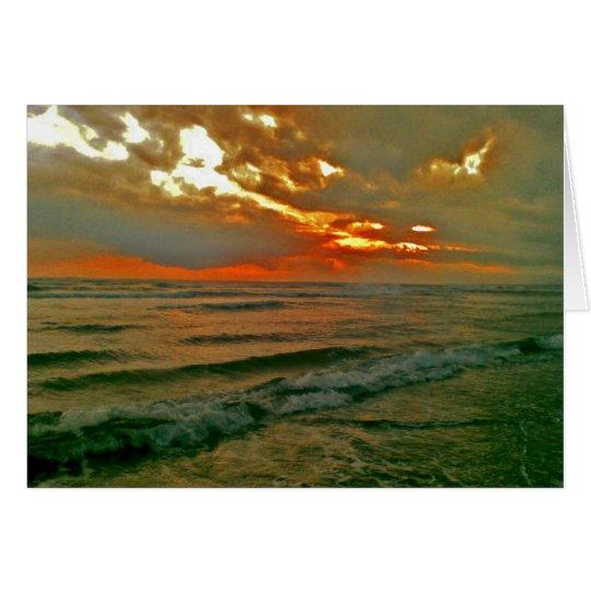 Bali Evening Sky Card