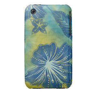 Bali Flower Batik Tropical Casemate iPhone 3 Case